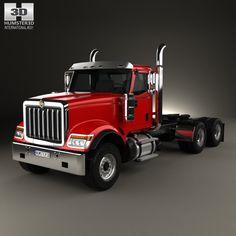 International HX520 Tractor Truck 2016 3d model from Hum3d.com.