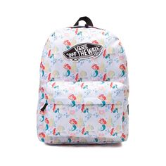 1c5c92adc14 Make a splash with the new Realm Ariel Backpack from Vans! Disney and Vans  team