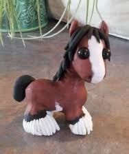 polymer clay horses - Google Search