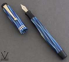 Parker True Blue Juniorette, ca. 1930 | Penarte - Fine Vintage Pens