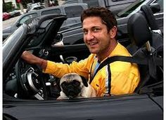 Taking puggy for a car ride!
