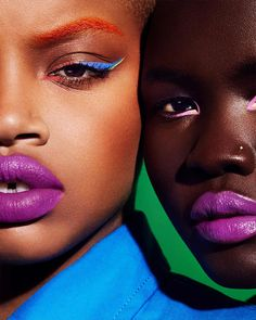 Fenty Beauty's limited-edition satin lipstick that drenches lips in bold mouthwatering color in seven juicy high-impact shades designed for everyone. Makeup Inspo, Makeup Inspiration, Makeup Tips, Hair Makeup, Beauty Makeup, Prom Makeup, Wedding Makeup, Makeup Ideas, Bright Lipstick