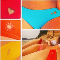 Punch a hole in your bikini bottom, and get that shape tanned on you!