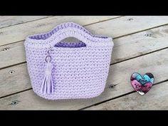 Pull losange femme crochet 1/2 / Spring (Grid) sweater crochet (english subtitles) - YouTube