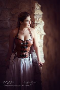 Lady in Waiting - Pinned by Mak Khalaf Shooting a few shots at a castle in Poland Fine Art CastleHostoryLadyModelPolandSisterarchitectureeuropeolandtravel by KellySchneider