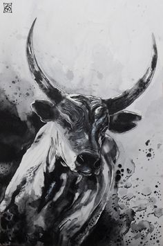 The bull by Zsil-works.deviantart.com on @deviantART