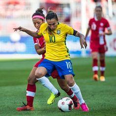 Blog Esportivo do Suíço: Com dois de Marta, Brasil bate Canadá em Toronto