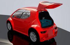 Colibri One-Seat Electric Car to Go Into Production Next Year Small Electric Cars, Electric Vehicle, E Quad, Jaguar, Microcar, Go Car, Smart Car, City Car, Futuristic Cars