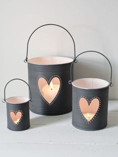 11 DIY Recycle a Tin Can Into a Gorgeous Lantern Candles summcoco gives you inspiration for the women fashion trends you want. Thinking about a new looks or lifestyle? This is your ultimate resource to get the hottest trends. Diy Candle Lantern, Outdoor Candle Lanterns, Tin Can Lanterns, Lantern Centerpieces, Lanterns Decor, Diy Candles, Recycle Cans, Tin Can Crafts, Rustic Candle Holders