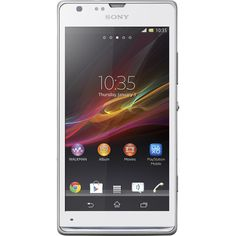 "White Xperia SP LTE 4.6"" HD Android Smartphone"