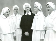 Sisters of Charity of Nazareth  showing new nursing habit