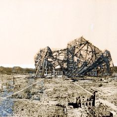 Arata Isozaki, Re-ruined Hiroshima Project, Hiroshima, Japan - Perspective, 1968