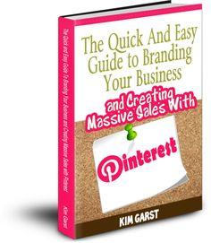 #pinterest The Quick and Easy Guide to #Branding Your Business and Creating Sales With Pinterest $4.97