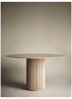 White Oak Dining Table, Circular Dining Table, Dining Table Design, Modern Dining Table, Round Oak Dining Table, Table Furniture, Furniture Design, Royal Table, Esstisch Design