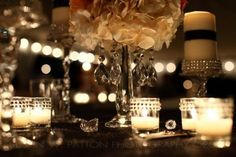 vintage hollywood wedding decor | ... http boards weddingbee com topic hollywood glamvintage centerpieces
