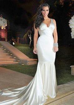 Real Housewife of Atlanta, Kim Zolciak\'s 3rd wedding dress was a ...