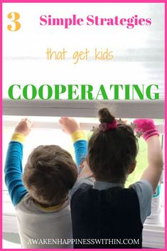 This mom of four shares three quick ways to get your kids to cooperate. #parenting #parentingtips #parentingadvice