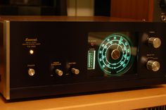 Sansui TU-666 tuner. So vintage!!!..... wonder if this only plays devil worship music?  Are contemporary CHRISTian stations naturally muted when you tuned to them?