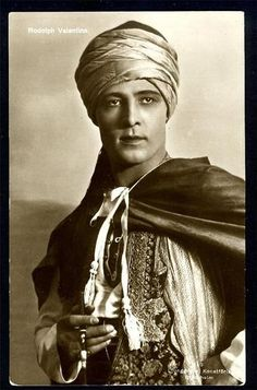 Rudolph Valentino (May 6, 1895 – August 23, 1926), was an Italian actor who starred in several well-known silent films including The Four Horsemen of the Apocalypse, The Sheik, Blood and Sand, The Eagle, and The Son of the Sheik. An early pop icon, a sex symbol of the 1920s. His death, which occurred at age 31, caused mass hysteria among his female fans and further propelling him into icon status