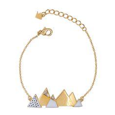 Bracelet au Sommet doré | Grizzly Chéri