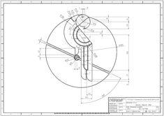 학습도면 > 2D 연습도면 > 오토캐드 연습도면 - 789 : 네이버 블로그 Cad Cam, Technical Drawing, Compass Tattoo, Engineering, Study, Graphic Design, Drawings, Illustration, Exercises