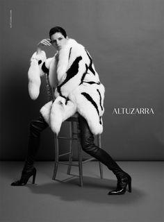 Altuzarra. Fall-Winter 2013. Model: Stella Tennant