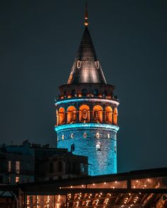 Galata Tower by Aytek Öğreten. (via Instagram - aytekogreten) #galatatower #galatakulesi #istanbul #turkey #türkiye #city #photography