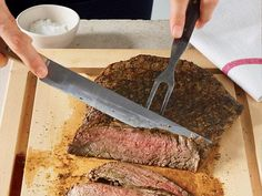 12 Delicious, healthy grilling recipes from prevention.com... including this one: Flank Steak with Italian-Style Marinade