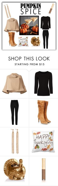 """Thanksgiving"" by krystalkm-7 ❤ liked on Polyvore featuring Chloé, Alexander Wang, River Island, Gestuz, Charlotte Chesnais and Dolce&Gabbana"