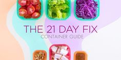 Autumn Calabrese's 21 Day Fix containers changed how we eat. Learn how to use the portion control containers including their size & what foods are allowed. 21 Day Fix Meal Plan, Easy Meal Plans, Free Meal Plans, Clean Eating Grocery List, Eating Clean, Healthy Eating, Healthy Meals, Healthy Life, Beach Bodys