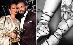 Rihanna s'est fait tatoué un requin en l'honneur de Drake