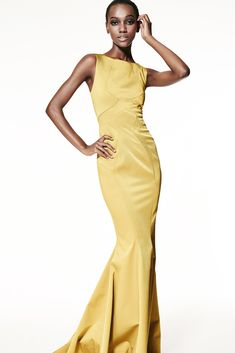 The complete ZAC Zac Posen Spring 2015 Ready-to-Wear fashion show now on Vogue Runway.