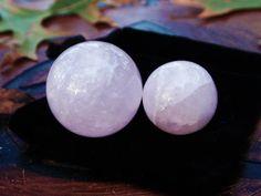 ROSE QUARTZ Marble Crystal Sphere  Love by DewberrysHerbal on Etsy, $4.95