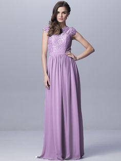 Convertible Chiffon Bridesmaid Dress - mixbridal.com