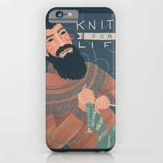 Knits for Life iPhone & iPod Case