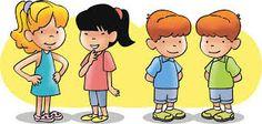 Resultado de imagem para crianças desenho segurando faixa