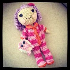 Finished doll! #crochet #amigurumi by CraftyisCool1, via Flickr