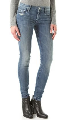 MOTHER The Looker Skinny Jeans Have them Love them