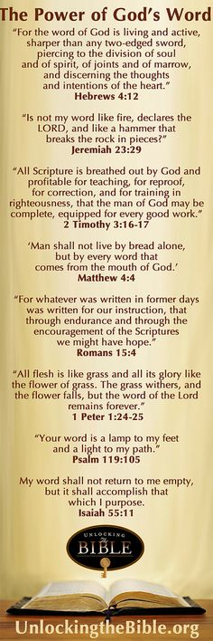 The Power of God's Word | Visit our website for biblical res… | Flickr