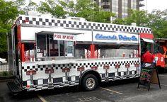 Dashboard Diner Mobile Food Truck.