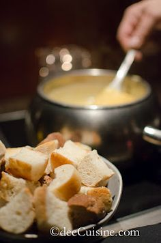 Boston Lager Cheddar Cheese Fondue at The Melting Pot