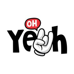 Check out this awesome 'OH+yeah' design on T Shirt Logo Design, Shirt Designs, Life Quotes Wallpaper, Looney Tunes Cartoons, Cool Stickers, Illustrations And Posters, Quote Posters, Cartoon Wallpaper, Aesthetic Art