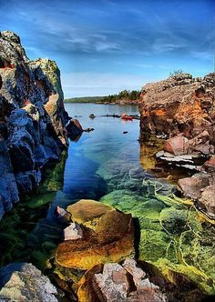 Lorelei Lane, Isle Royale National Park, Michigan. #Nationalparks #TravelDestinationsUsaMichigan