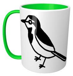 White Wagtail Mug / #Animal #Bird