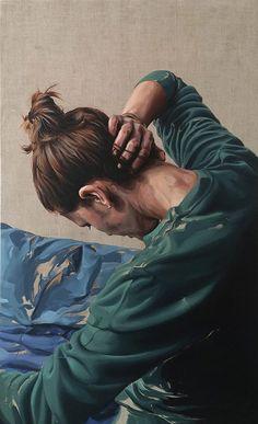 Sara Morais oil on lien - 120x80