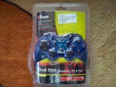 CALINBEHTUK: Prezentare Gamepad Dual Stick - Blue GM-1520T