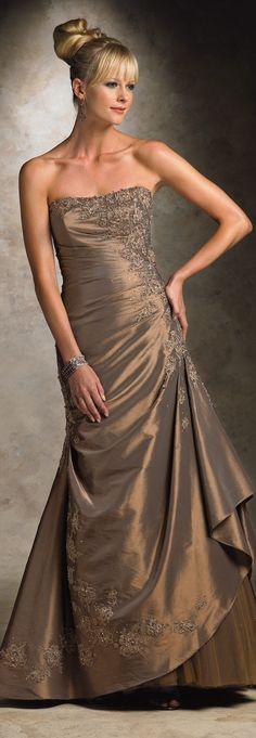 Mon Cheri 2013 vestido tomara que caia