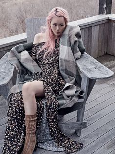 Astrid Holler, Fernanda Ly, Grace Simmons, Kia Low and Madison Stubbington by Benny Horne for Vogue Australia June 2015