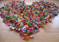 1000 paper cranes | Magical Daydream