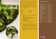 Roasted Garlic Broccoli    http://vegetarianbody.com/wp-content/uploads/recipe-volume-1.pdf